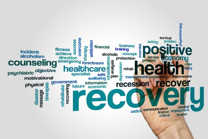 Recovering addicts reduce stress